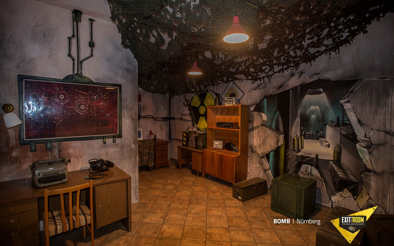 Bomb Escape Room Manchester Exit The Room Manchester